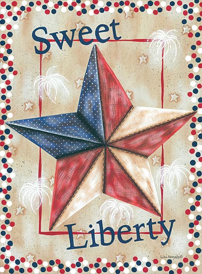 Lisa Kennedy KEN933 - Sweet Liberty - America, Barn Star, Patriotic from Penny Lane Publishing