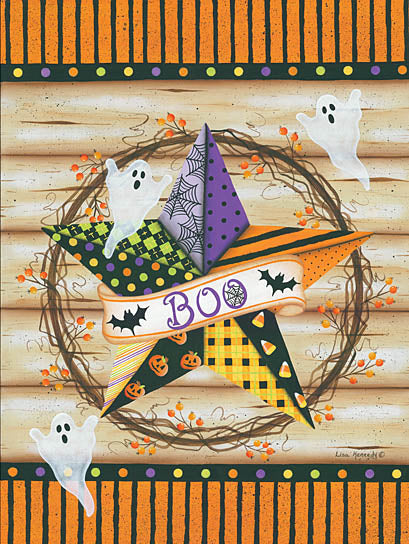 Lisa Kennedy KEN941 - Halloween Barn Star - Barn Star, Ghosts, Halloween from Penny Lane Publishing