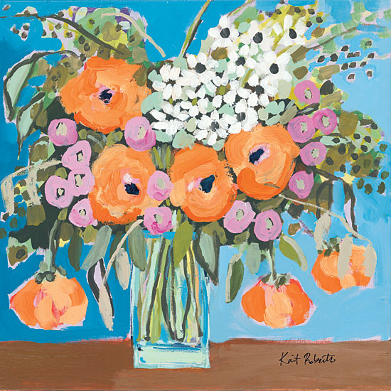 Kait Roberts KR409 - KR409 - Thoughtful - 12x12 Flowers, Bouquet, Still Life, Vase from Penny Lane