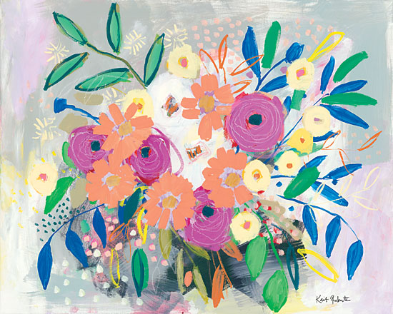 Kait Roberts KR415 - KR415 - Adore - 16x12 Abstract, Flowers, Bouquet, Botanical from Penny Lane