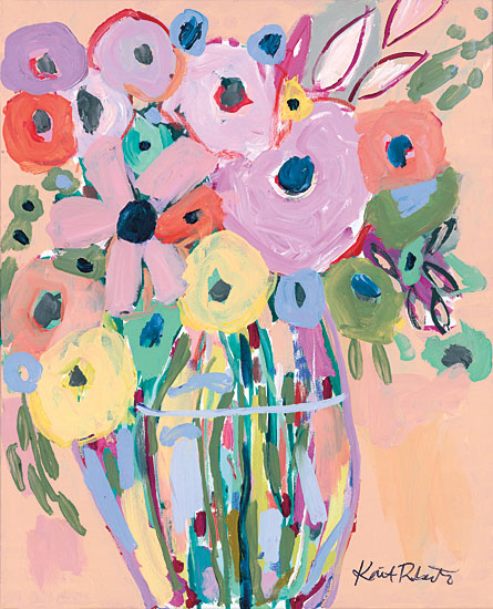 Kait Roberts KR523 - KR523 - Keep It Up - 12x16 Flowers, Abstract, Modern from Penny Lane