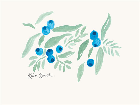 Kait Roberts KR580 - KR580 - Bountiful Blueberries from Maine - 16x12 Blueberries, Maine from Penny Lane