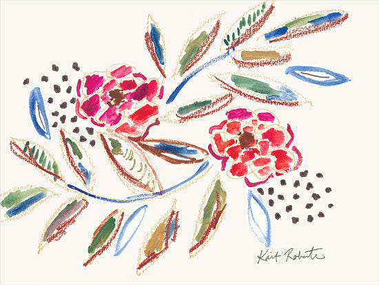 Kait Roberts KR608 - KR608 - Lipstick & Blush - 16x12 Flowers, Greenery from Penny Lane