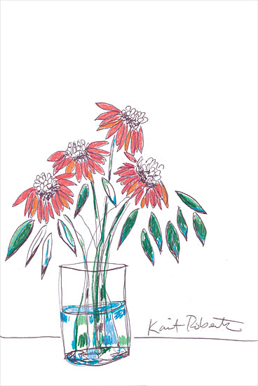Kait Roberts KR717 - KR717 - Prettifying:  A Verb - 12x18 Flowers, Glass Jar, Vase, Boutique, Blooms, Botanical from Penny Lane