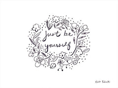 KR724 - Just Be Yourself  - 16x12