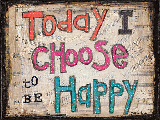 Lisa Larson LAR213 - Choose to be Happy - Happy, Signs from Penny Lane Publishing