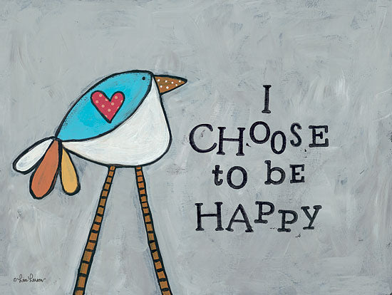 Lisa Larson LAR291 - Choose Happy - Bird, Heart, Signs from Penny Lane Publishing
