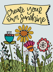 LAR414 - Create Your Own Sunshine - 12x16