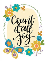 LAR417 - Count It All Joy - 12x16
