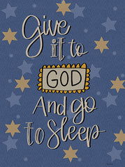 LAR421 - Give It to God And Go to Sleep - 12x16
