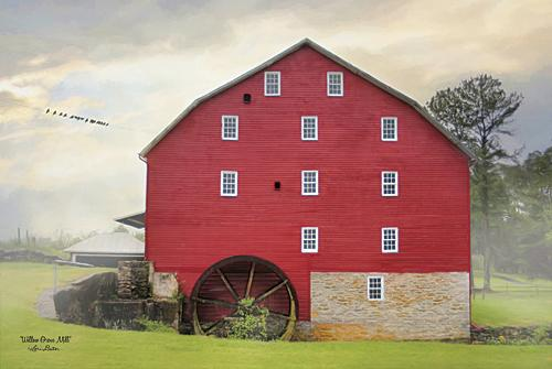 Lori Deiter LD1016 - Willow Grove Mill - Barn, Mill, Landscape from Penny Lane Publishing