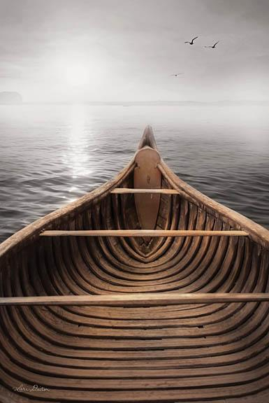 Lori Deiter LD1050 - Old Wooden Canoe - Lake, Canoe from Penny Lane Publishing