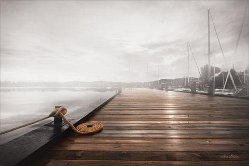 Lori Deiter LD1051 - Newport Dock I - Lake, Dock, Walkway, Landscape from Penny Lane Publishing