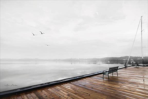 Lori Deiter LD1052 - Newport Dock II - Dock, Water, Bench from Penny Lane Publishing