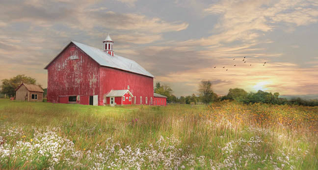 Lori Deiter LD1058 - Vermont Landscape - Barn, Farm, Landscape from Penny Lane Publishing