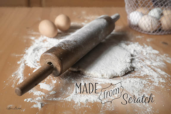 Lori Deiter LD1060 - Made from Scratch - Kitchen, Rolling Pin, Inspirational, Baking from Penny Lane Publishing