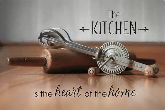 Lori Deiter LD1061 - The Kitchen is the Heart of the Home - Kitchen, Inspirational, Baking from Penny Lane Publishing