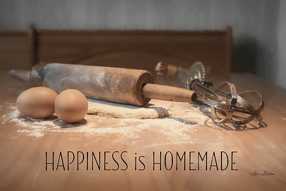 Lori Deiter LD1062 - Happiness is Homemade - Kitchen, Rolling Pin, Inspirational, Baking from Penny Lane Publishing