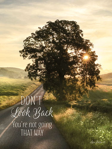 Lori Deiter LD1073 - Don't Look Back - Tree, Road, Sunlight, Encouraging from Penny Lane Publishing
