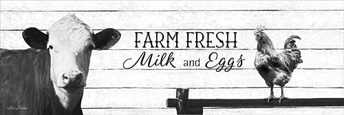 Lori Deiter LD1076 - Farm Fresh Milk and Eggs - Milk, Cow, Eggs, Rooster, Signs from Penny Lane Publishing