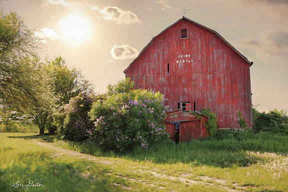 Lori Deiter LD1087 - Spide Barton Barn - Barn, Trees from Penny Lane Publishing