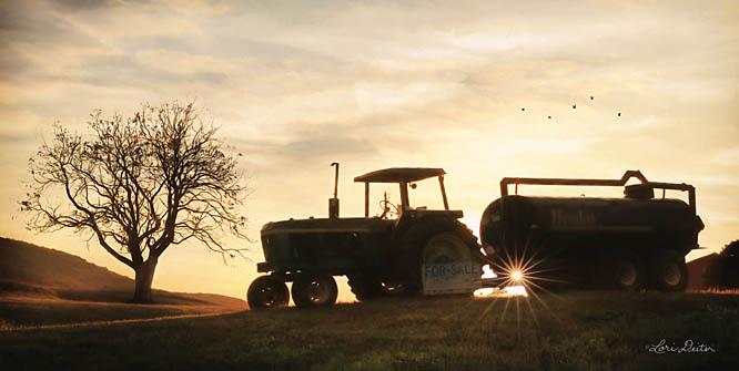 Lori Deiter LD1090 - Tractor for Sale - Tractor, Farm, Harvest from Penny Lane Publishing