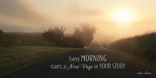 Lori Deiter LD1092 - Every Morning - Morning, Road, Inspirational from Penny Lane Publishing