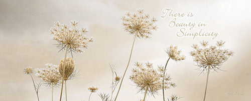 Lori Deiter LD1104 - There is Beauty in Simplicity - Queen Ann's Lace, Wildflowers, Inspiring from Penny Lane Publishing