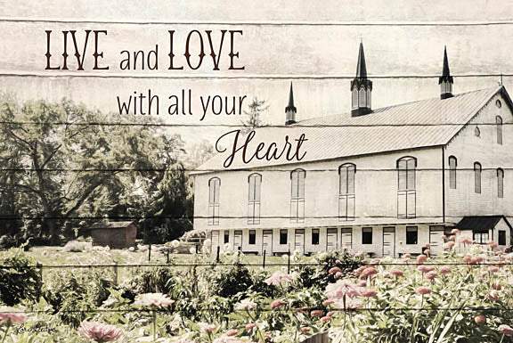 Lori Deiter LD1108 - Live and Love Barn - Barn, Lettering, Love from Penny Lane Publishing