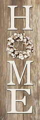 LD1577 - Cotton Wreath Home - 8x24