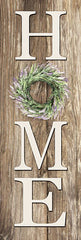 LD1578 - Lavender Wreath Home - 8x24