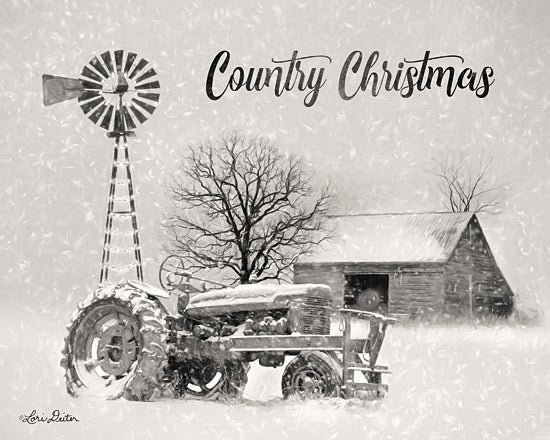 Lori Deiter LD1757 - LD1757 - Country Christmas      - 16x12 Signs, Typography, Country Christmas, Tractor, Windmill, Barn from Penny Lane