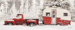 LD1827C - Christmas Camper with Bike - 36x12