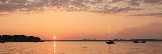 Lori Deiter LD1878 - LD1878 - The Perfect Ending   - 18x6 Photography, Sunset, Sailboat, Lake from Penny Lane