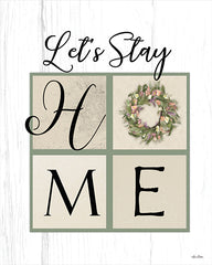 LD2221 - Let's Stay Home - 12x16