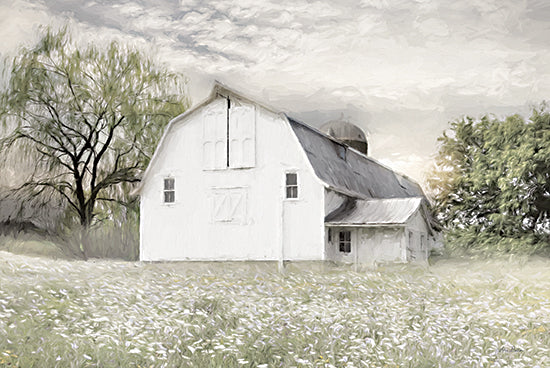 Lori Deiter LD2245 - LD2245 - Brownsville Sunrise      - 18x12 Farm, Barn, Wild Flowers, Flowers, Photography from Penny Lane