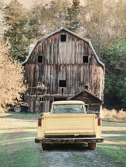 Lori Deiter LD2274 - LD2274 - Yellow Chevy - 12x16 Truck, Chevrolet, Chevy, Barn, Rustic, Vintage, Farm, Photography from Penny Lane
