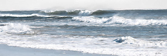 Lori Deiter LD2292A - LD2292A - Ocean Panorama - 36x12 Ocean, Waves, Panorama View, Photography from Penny Lane