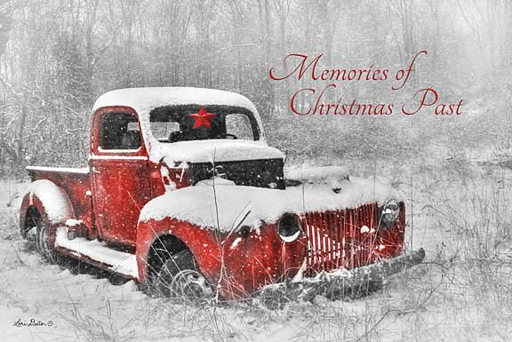 Lori Deiter LD408 - Christmas Past - Red Truck, Holiday, Snow, Winter, Signs from Penny Lane Publishing