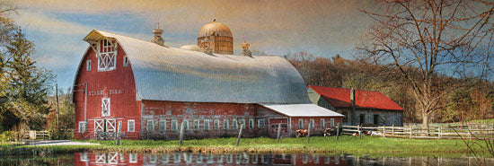 Lori Deiter LD423 - Starr Farm  - Barn, Pond, Farm from Penny Lane Publishing