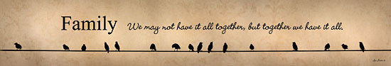Lori Deiter LD464 - Family - Together We Have It All  - Birds, Family, Signs from Penny Lane Publishing