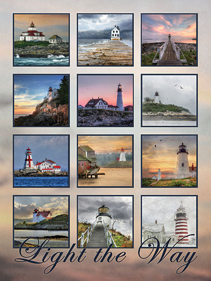 Lori Deiter LD489 - Light the Way - Lighthouses, Collage, Signs from Penny Lane Publishing
