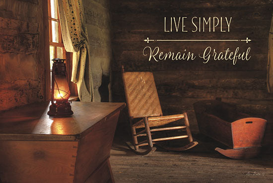 Lori Deiter LD623 - Live Simply - Chair, Cradle, Inspirational, Lantern from Penny Lane Publishing