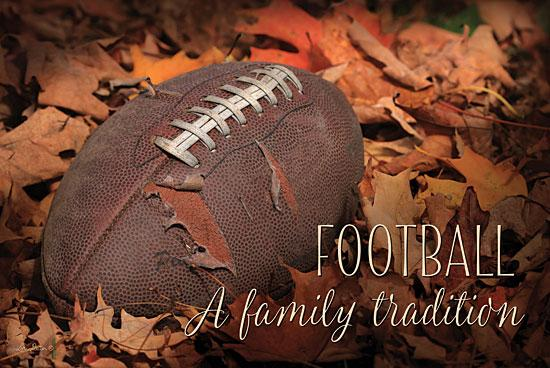 Lori Deiter LD636 - Football - A Family Tradition - Football, Leaves, Family, Sports from Penny Lane Publishing