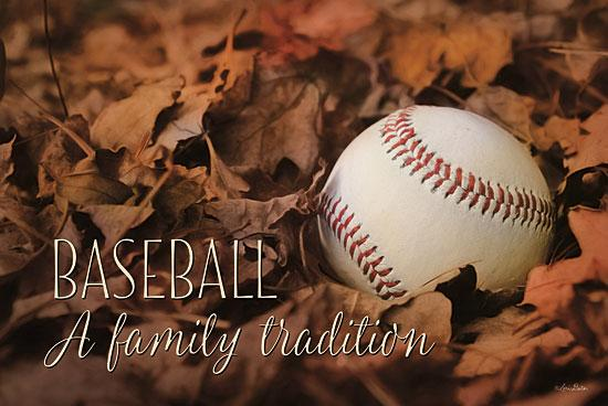 Lori Deiter LD698 - Baseball - A Family Tradition - Baseball, Leaves, Family, Sports from Penny Lane Publishing