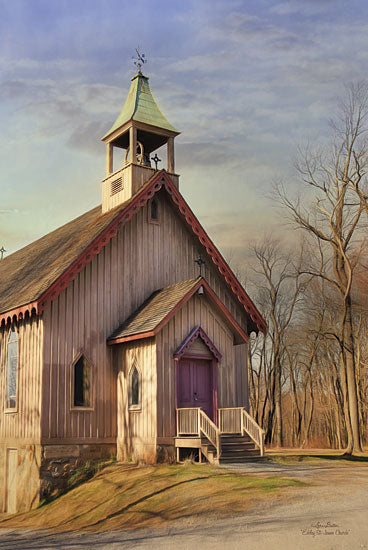 Lori Deiter LD713 - Eckley St. James Church - Church   from Penny Lane Publishing