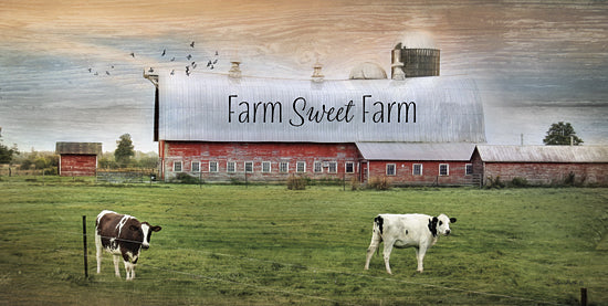 Lori Deiter LD739 - Farm Sweet Farm - Farm, Barn, Cows, Landscape from Penny Lane Publishing