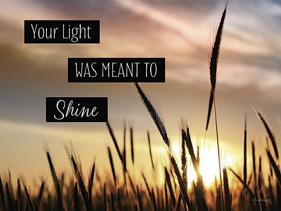 Lori Deiter LD743 - Your Light - Inspirational, Signs, Landscape, Wheat from Penny Lane Publishing