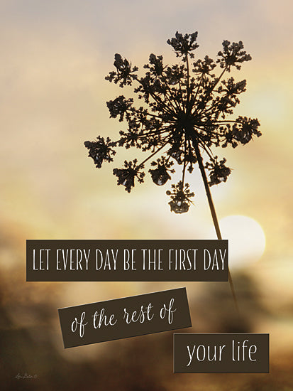 Lori Deiter LD747 - The First Day - Inspirational, Signs, Landscape, Floral from Penny Lane Publishing
