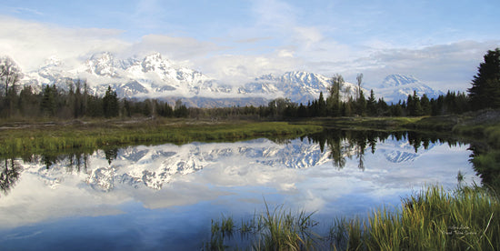 Lori Deiter LD756 - Grand Teton Sunrise - Lake, Trees, Mountains, Nature from Penny Lane Publishing